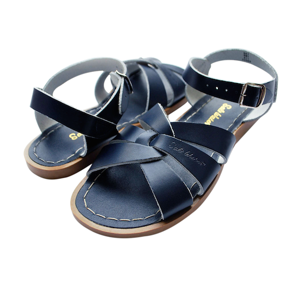 Adult Saltwater Sandals/Navy