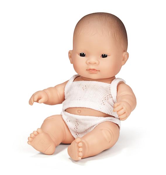 Baby Girl Doll/Asian