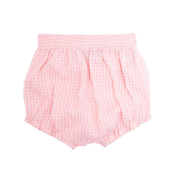 Pink Gingham Shorts