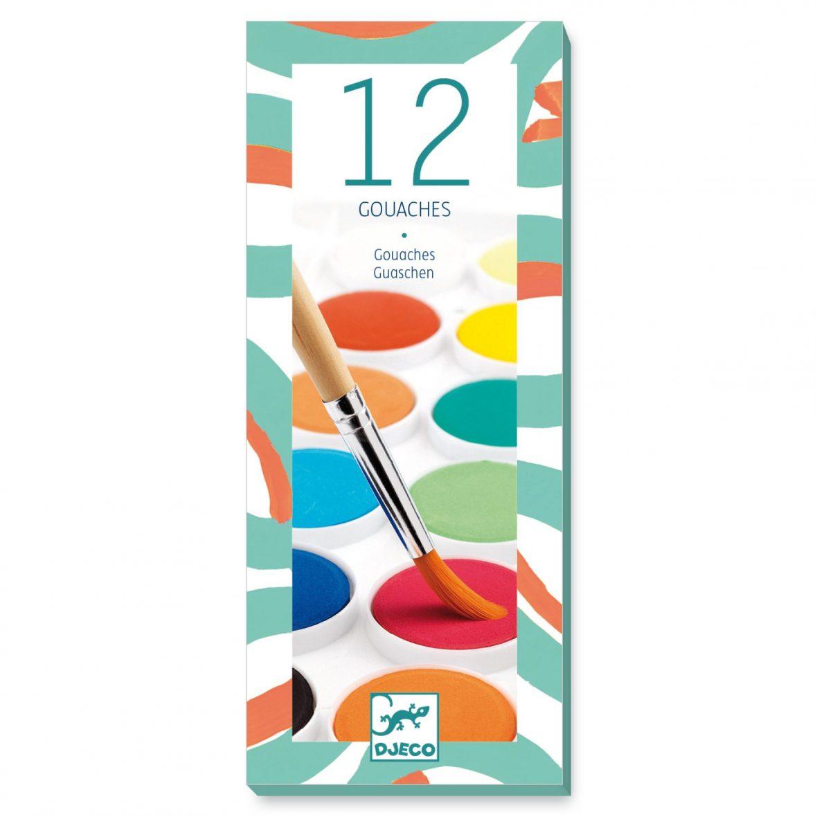 12 Colour Cakes/Classic