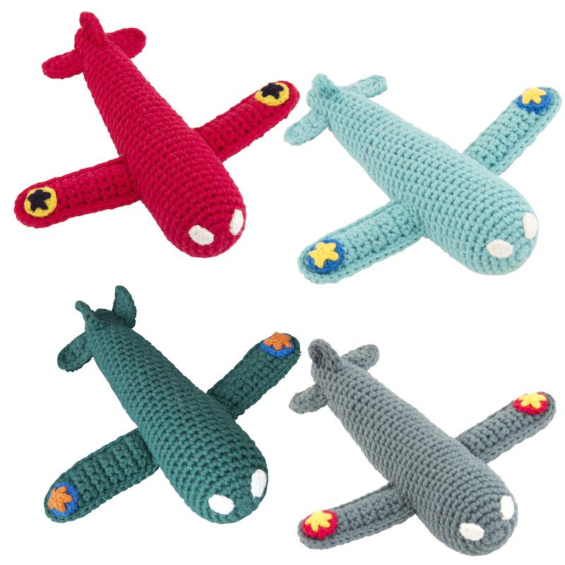 Crochet Aeroplane Rattle