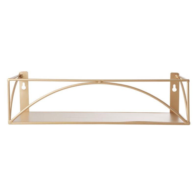 Gold Metal Shelf