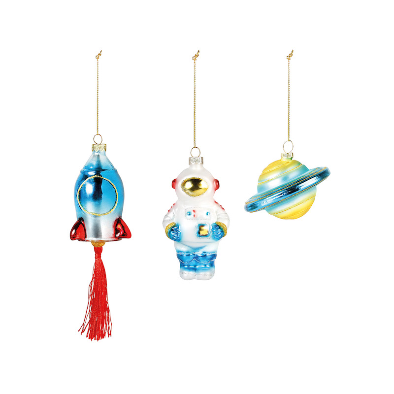 Space Baubles/Set of 3