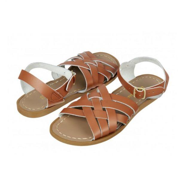 Adult Retro Sandals/Tan
