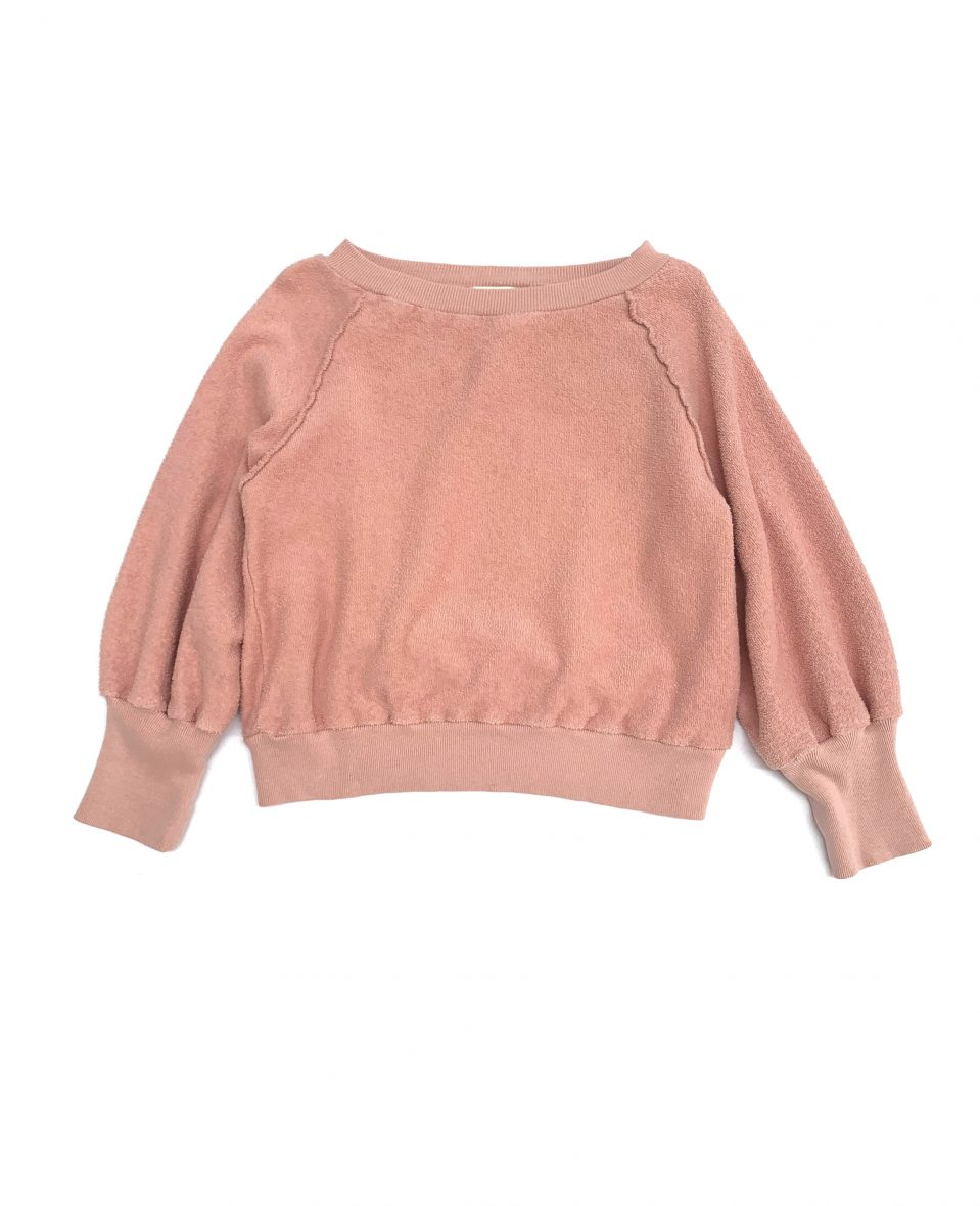 Terry Sweater/Old Rose