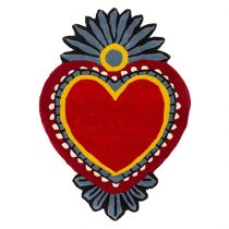 Milagro Heart red