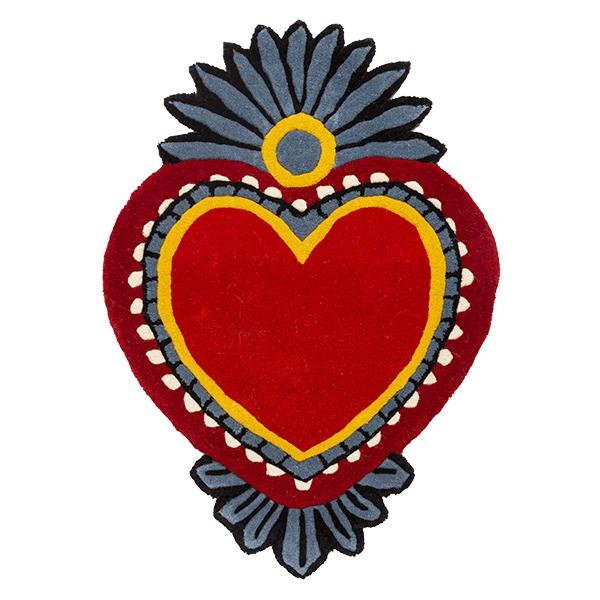 Milagro Heart Rug/Medium