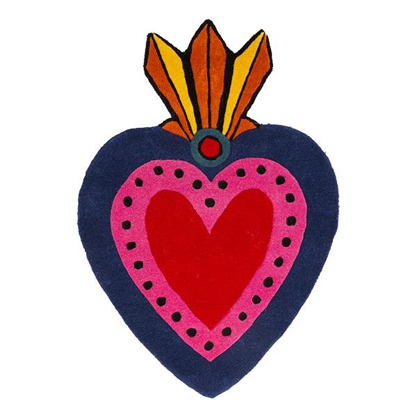 Milagro Heart Rug/Large