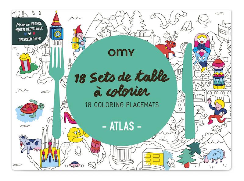 Atlas Colour In Placemats